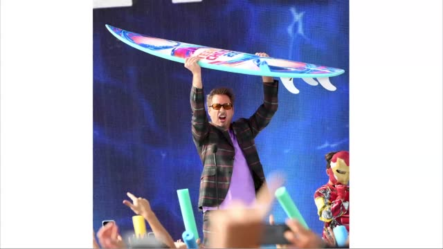 robert downey jr accepts choice action movie actor for 'avengers endgame' onstage during fox's teen choice awards 2019 on august 11 2019 in hermosa... - annual teen choice awards stock videos & royalty-free footage