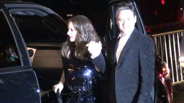 Robert Downey Jr and Susan Downey at Stings 60th Birthday Concert at The Beacon Theater in New York 10/01/11