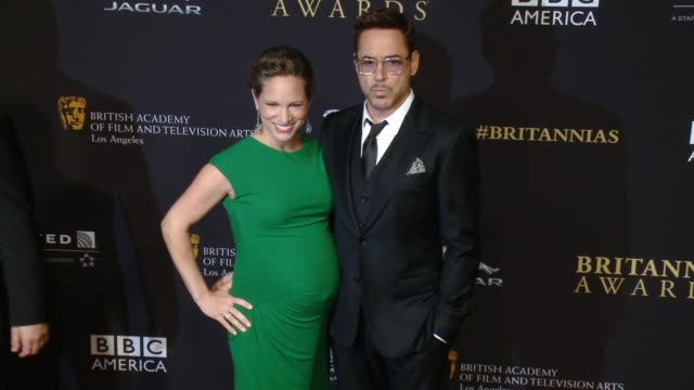 Robert Downey Jr and Susan Downey at the 2014 BAFTA Los Angeles Jaguar Britannia Awards Presented by BBC America and United Airlines in Los Angeles...