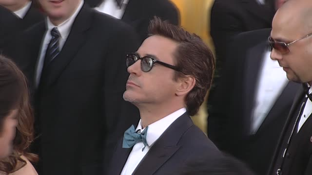 Robert Downey Jr and Susan Downey at the 82nd Annual Academy Awards Arrivals Part 2 at Los Angeles CA
