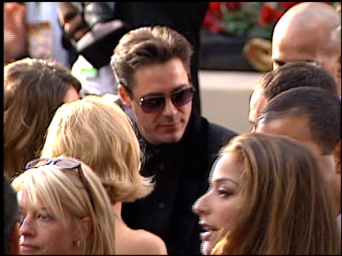Robert Downey Jr at the 2001 Golden Globe Awards at the Beverly Hilton in Beverly Hills California on January 21 2001
