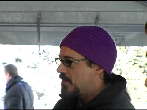 Robert Downey Jr at the 2006 Sundance Film Festival 'A Guide To Recognizing Your Saints' Premiere at Racquet Club in Park City Utah on January 20 2006