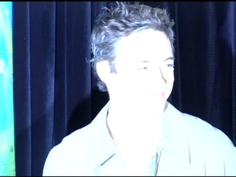 Robert Downey Jr at the Robert Downey Jr's 'The Futurist' CD Release at the Virgin Megastore in Hollywood California on November 23 2004