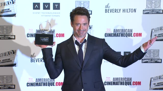 Robert Downey Jr at the The 25th Annual American Cinematheque Award Honoring Robert Downey Jr at Beverly Hills CA