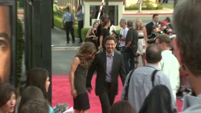 robert downey jr. at the 'the soloist' premiere at los angeles ca. - soloist stock videos & royalty-free footage
