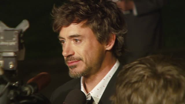 Robert Downey Jr at the 'Zodiac' Premiere at Paramount Theatre in Los Angeles California on March 1 2007