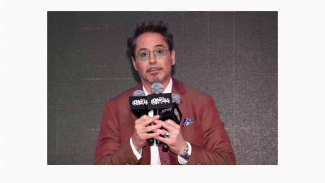 Robert Downey Jr attends the 'Avengers Endgame' Asia Press Conference on April 15 2019 in Seoul South Korea The film will open on April 24 in South...