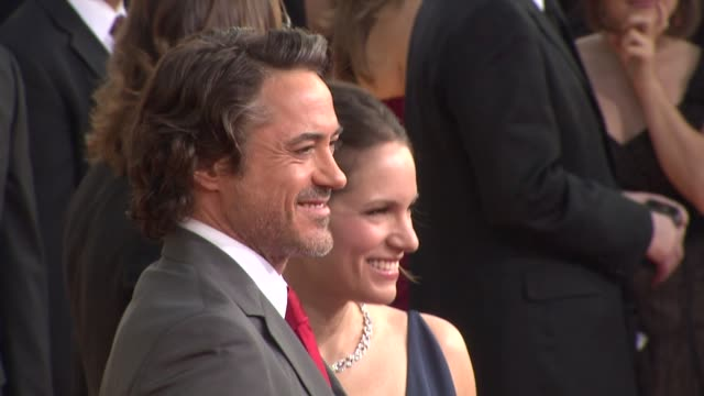 Robert Downey Jr Susan Downey at the 68th Annual Golden Globe Awards Arrivals Part 2 at Beverly Hills CA