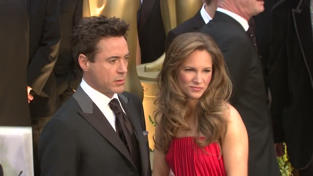 Robert Downey Jr Susan Downey at the 81st Academy Awards Arrivals Part 6 at Los Angeles CA