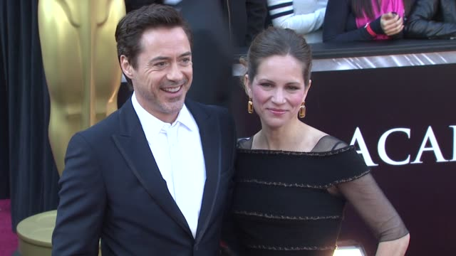 Robert Downey Jr Susan Downey at the 83rd Annual Academy Awards Arrivals Part 3 at Hollywood CA
