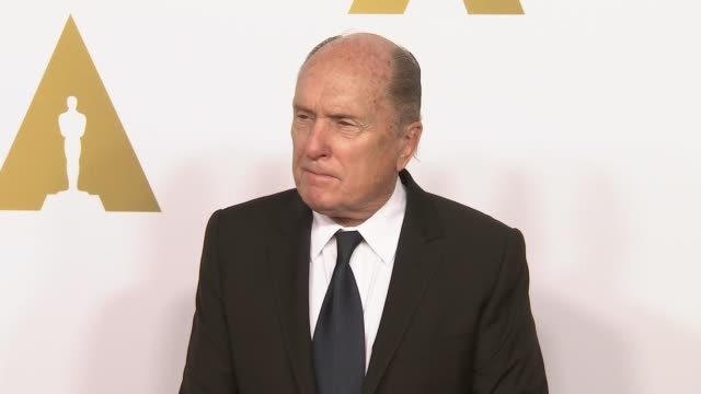 robert duvall at 87th annual academy awards nominee luncheon - reception at the beverly hilton hotel on february 02, 2015 in beverly hills,... - the beverly hilton hotel stock videos & royalty-free footage