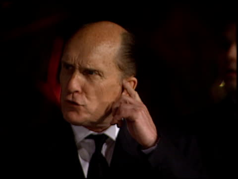 robert duvall at the 1998 academy awards vanity fair party at morton's in west hollywood, california on march 23, 1998. - 70th annual academy awards stock videos & royalty-free footage
