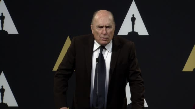 robert duvall at the beverly hilton hotel on february 02, 2015 in beverly hills, california. - the beverly hilton hotel stock videos & royalty-free footage