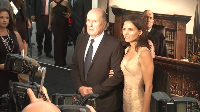 robert duvall at the judge los angeles premiere at ampas samuel goldwyn theater on october 01 2014 in beverly hills california - samuel goldwyn theater stock videos & royalty-free footage