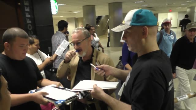robert englund arriving at lax airport on september 13, 2015 in los angeles, california. - robert englund stock videos & royalty-free footage