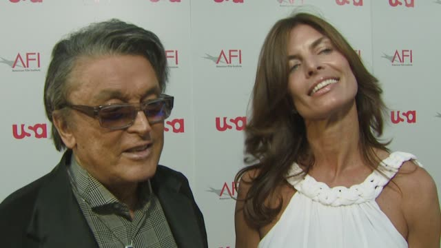 robert evans and victoria evans on the event, on knowing warren beatty for 50 years, on what a star warren beatty is. at the warren beatty to be... - warren beatty stock videos & royalty-free footage