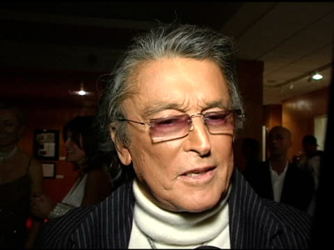vídeos de stock, filmes e b-roll de robert evans on the entertainment industry at the ampas 30th anniverary screening of 'chinatown' at the academy of motion picture arts and sciences... - academy of motion picture arts and sciences