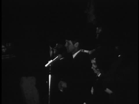robert f. kennedy addresses an audience after the assassination of martin luther king jr. - crime or recreational drug or prison or legal trial stock videos & royalty-free footage