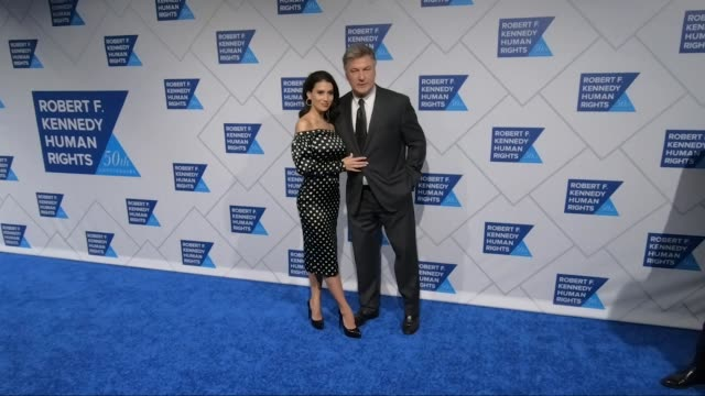 robert f kennedy human rights' ripple of hope awards at new york hilton midtown on december 12 2018 in new york city - alec baldwin stock videos & royalty-free footage