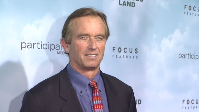 robert f kennedy jr at promised land new york premiere presented by focus features at amc loews lincoln square 13 theater on december 04 2012 in new... - amc loews stock videos and b-roll footage
