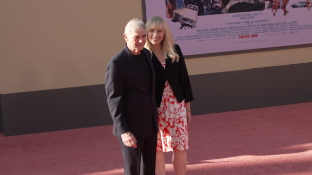 """robert forster and denise grayson at the """"once upon a time in hollywood"""" premiere at tcl chinese theatre on july 22, 2019 in hollywood, california. - tcl chinese theatre stock videos & royalty-free footage"""