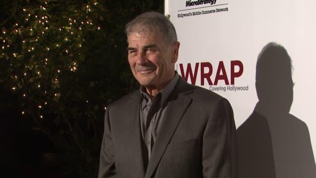 vídeos de stock, filmes e b-roll de robert forster at thewrapcom preoscar party on 2/22/2012 in beverly hills ca - oscar party