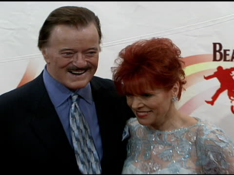 robert goulet and vera goulet at the 'love': cirque du soleil celebratation of the musical legacy of the beatles at the mirage hotel and casino in... - vera goulet stock-videos und b-roll-filmmaterial