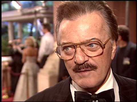 robert goulet at the night of 100 stars oscar gala at the beverly hilton in beverly hills, california on february 29, 2004. - robert goulet stock videos & royalty-free footage