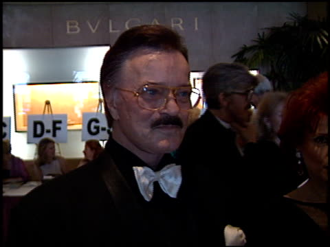 robert goulet at the society of singers ella award julie andrews at the beverly hilton in beverly hills, california on april 25, 2001. - robert goulet stock videos & royalty-free footage