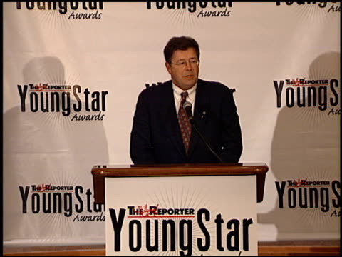 robert j dowling at the youngstar awards nominations at the mondrian hotel in west hollywood, california on september 6, 2000. - モンドリアンホテル点の映像素材/bロール