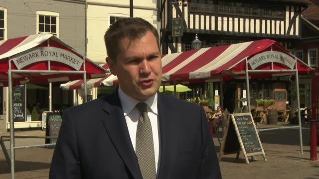 nottinghamshire newark ext robert jenrick mp interview sot re introducing today a well we want to change the planning system to bring it into the... - {{ collectponotification.cta }} stock videos & royalty-free footage