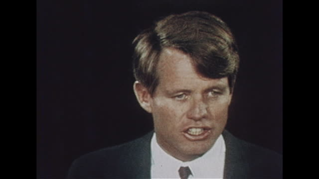 Robert Kennedy talks about why he is running for the presidency