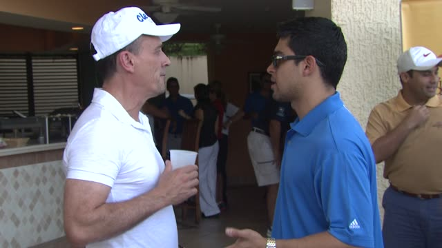 robert kneeper and wilmer valderrama at the 2nd annual amaury nolasco friends golf classic at fajardo - wilmer valderrama stock videos and b-roll footage