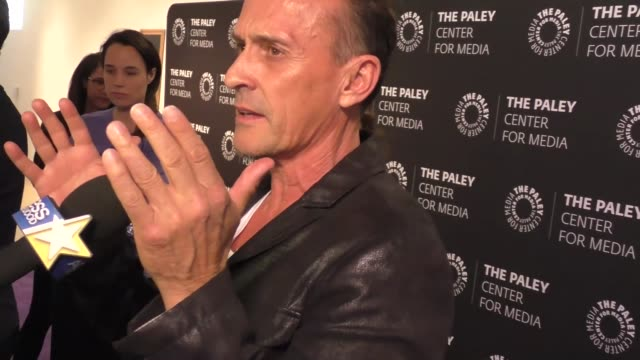 robert knepper at the 2017 paleylive la spring season 'prison break' screening and conversation on march 29 2017 in beverly hills california - prison break stock videos & royalty-free footage