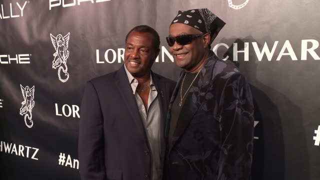 robert 'kool' bell and ronald 'khalis' bell at angel ball 2017 at cipriani wall street on october 23 2017 in new york city - cipriani manhattan stock videos & royalty-free footage