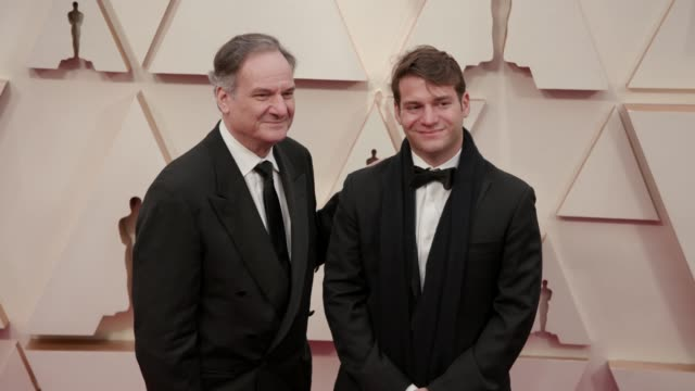 robert legato and guest at the 92nd annual academy awards at the dolby theatre on february 09, 2020 in hollywood, california. - the dolby theatre stock videos & royalty-free footage