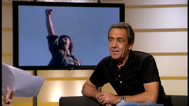 Robert Lindsay STUDIOn interview SOT discusses role of Aristotle Onassis in West End play 'Onassis'