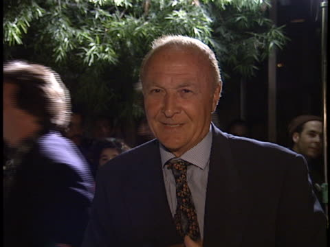 Robert Loggia at the First Knight Premiere at Academy Theater
