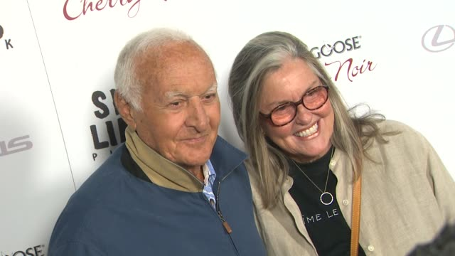 Robert Loggia Audrey Loggia at Silver Linings Playbook Los Angeles Premiere on in Beverly Hills CA
