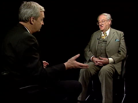 debate on whether it should be banned itn england london john mortimer intvwd foolish police officer and foolish people in crown prosecution service... - censorship stock videos and b-roll footage