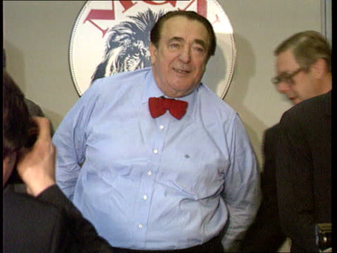 robert maxwell dead robert maxwell dead london cms maxwell at mirror group flotation pkf with son ian as photographer takes pictures tx - robert maxwell stock videos and b-roll footage