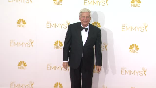 robert morse and mason vale cotton 66th primetime emmy awards arrivals at nokia theatre la live on august 25 2014 in los angeles california - emmy awards stock-videos und b-roll-filmmaterial