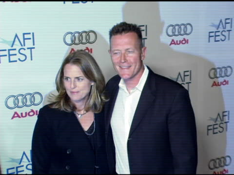 robert patrick and barbara patrick at the 20th century fox's 'walk the line' premiere at the opening night gala of the 2005 afi fest at the cinerama... - 20th century fox stock videos & royalty-free footage