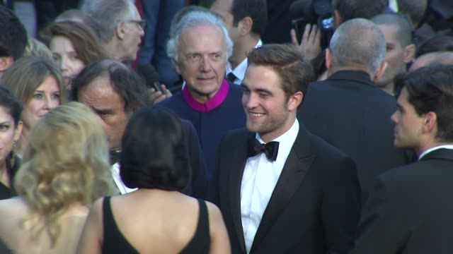 Robert Pattinson David Cronenberg Sarah Gadon Paul Giamatti Emily Hampshire and Martin Katz at Cosmopolis Premiere 65th Cannes Film Festival at...