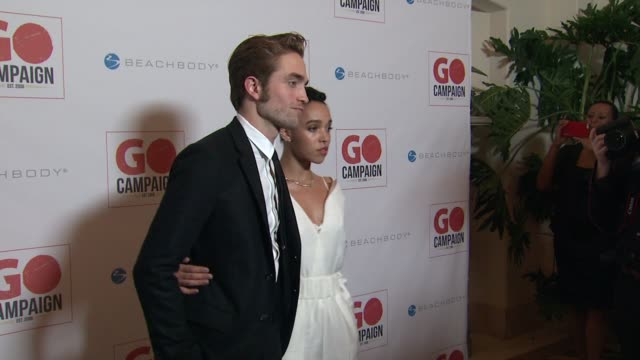 Robert Pattinson FKA twigs at 8th Annual GO Campaign Gala Hosted by Ewan McGregor in Los Angeles CA