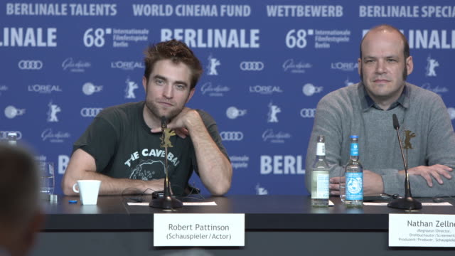 INTERVIEW Robert Pattinson on working on franchise films at 68th Berlin Film Festival 'Damsel' Press Conference at Grand Hyatt on February 16 2018 in...