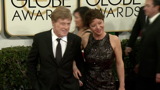 Robert Redford at 71st Annual Golden Globe Awards Arrivals at The Beverly Hilton Hotel on in Beverly Hills California