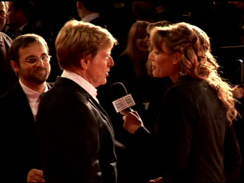 vídeos de stock e filmes b-roll de robert redford at the 'lions for lambs' premiere at the second rome film festival at auditorium in rome on october 23 2007 - robert redford