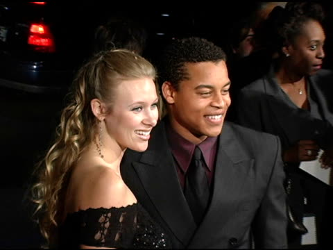 Robert Ri'Chard and guest at the 'Coach Carter' Los Angeles Premiere at Grauman's Chinese Theatre in Hollywood California on January 13 2005