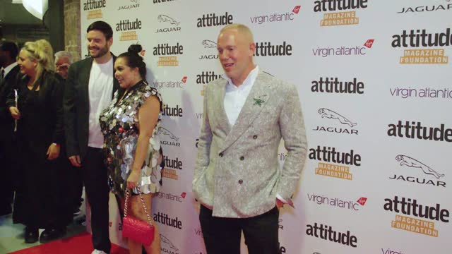 robert rinder attends the virgin atlantic attitude awards 2021 at the roundhouse on october 06, 2021 in london, england. - attitude stock videos & royalty-free footage